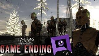 The Talos Principle: Road to Gehenna - Final Game Ending (Choice 1)