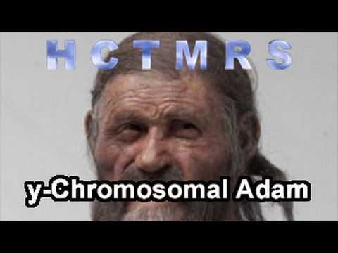 How Creationism Taught Me Real Science 57 y-Chromosomal Adam