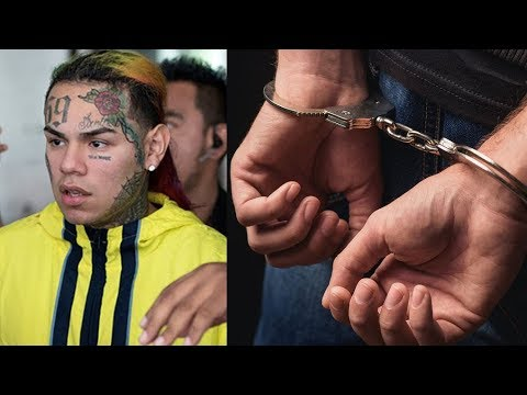 6ix9ine Arrested & Faces 20 Years on Racketeering - RICO Charge