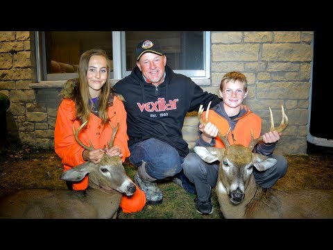 Youth Whitetail Deer Hunt Wisconsin- Larry Smith Outdoors TV