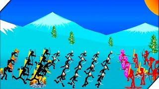 МАГ СТИКМЕН И ЕГО КОМАНДА - Игра Stick War Legacy Tournament Mode  Игры для андроид