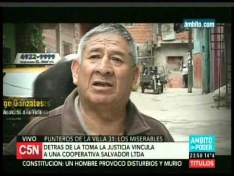 Los miserables: denuncian a punteros políticos del PRO que actúan en la villa 31