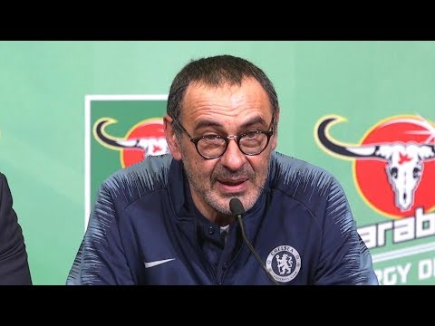 Maurizio Sarri On The Defeat Against Man City In The Carabao Cup Mp3