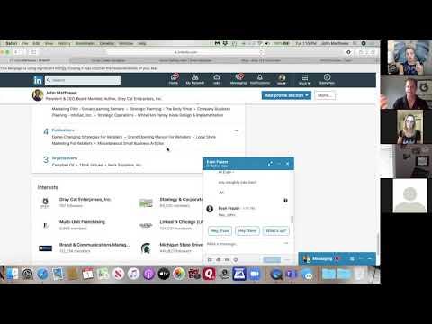 Linkedin Basics:  Publications, Projects & Boards