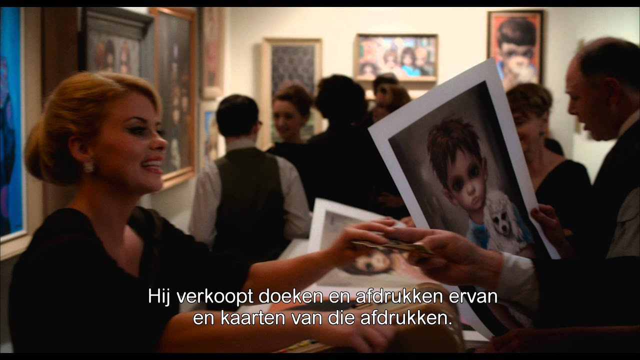 BIG EYES - Tim Burton - Officiële Trailer - 2015