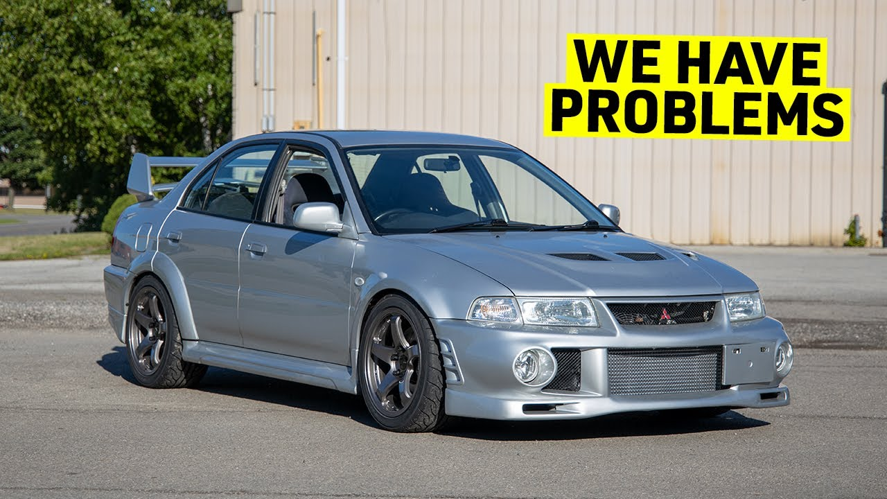 Building My EVO 6 Into An STI Killer - Fixing Small Issues  - Part 22