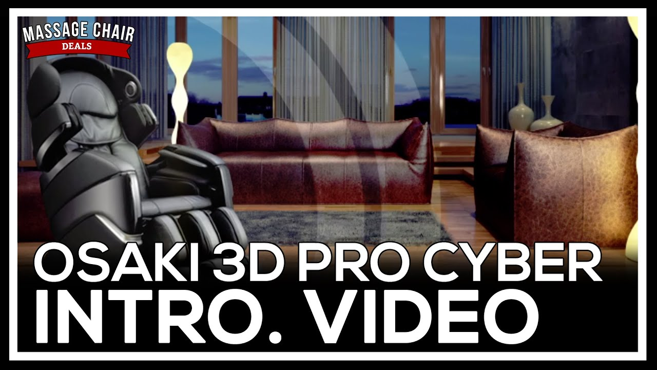 Osaki OS 3D Pro Cyber Massage Chair Quick Features