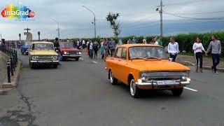 В Архангельске устроили выставку ретро автомобилей