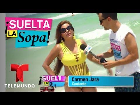 Carmen Jara presumió de los resultados de sus cirugías plásticas | Suelta La Sopa | Entretenimiento