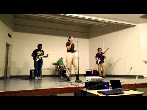 Allison Academy talent show 2015- Red Hot Chili Peppers Scar Tissue