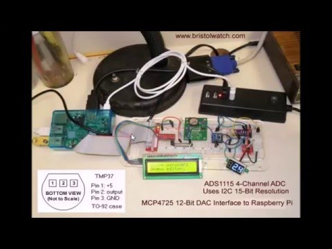 ADS1115 4 Channel ADC with Raspberry Pi