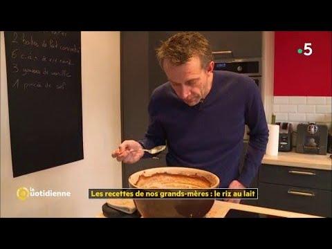 les-recettes-de-nos-grands-mères-:-le-riz-au-lait