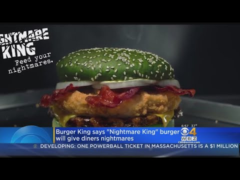 Melissa Forman in the Morning - The Burger King Nightmare Burger!