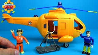 Fireman Sam Toy Helicopter Wallaby 2 by Simba |Brandweerman Sam
