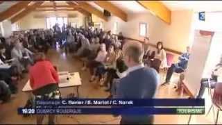 Reportage de France 3 sur le 1er forum touristique du Lot