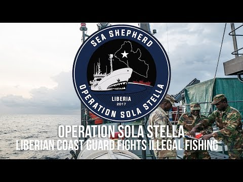 Liberian Coast Guard Fights Illegal Fishing