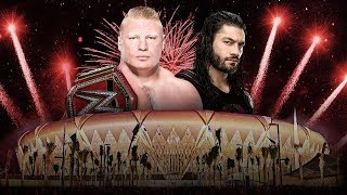WWE 2K18 Greatest Royal Rumble: Roman Reigns vs Brock Lesnar - WWE Universal Championship Match Sims
