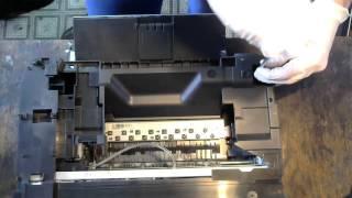 розбирання принтера, застрягання паперу Canon MP250