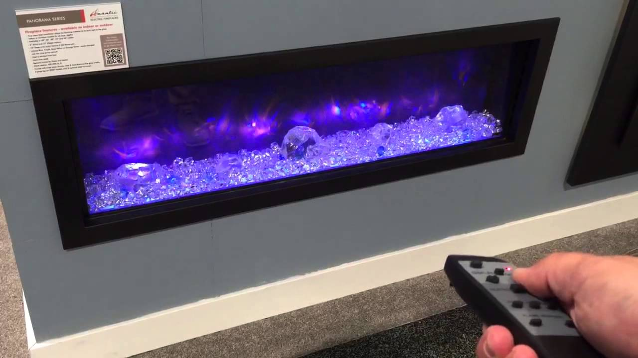 Amantii Built in deep electric fireplace product review - YouTube