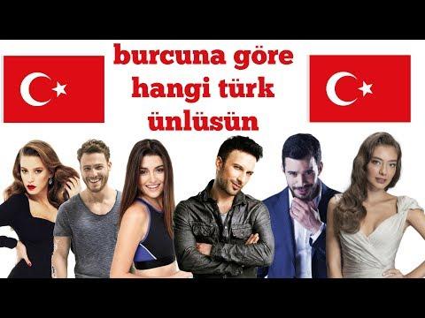 Burcuna Göre Hangi Türk ünlüsün