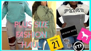 Plus Size Clothing Haul + Try On 2016 | Fashion Nova, Forever 21, Pink, FTF, ETC