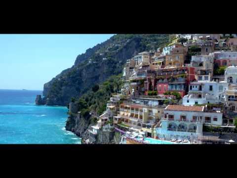 Aerial Reel Positano, Amalfi Coast Southern Italy