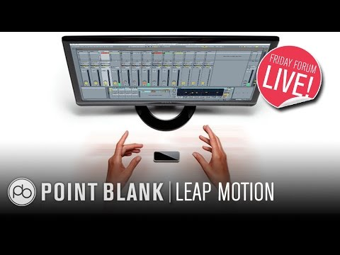 Controlling Ableton Live with Leap Motion (FFL!)