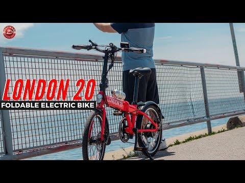 Daymak London 20 Foldable   Electric Bike