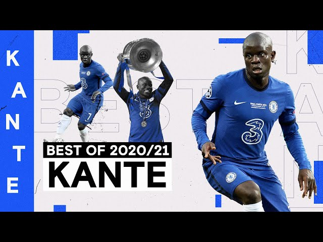 N'Golo Kanté | Tackles, Assists and Incredible Work Ethic 💪 | Best of 2020/21
