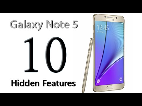 10 Hidden Features of the Galaxy Note 5 You Don
