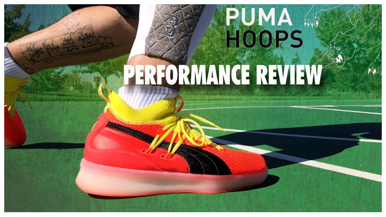 c53a393f6c8 PUMA Clyde Court Disrupt Performance Review - YouTube