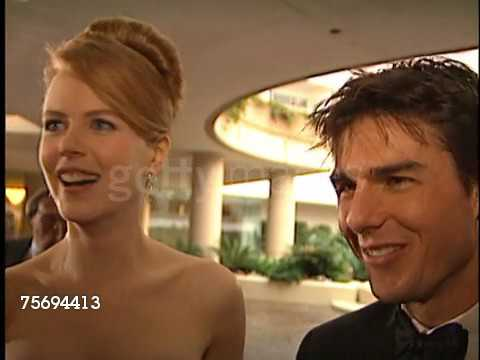 Tom Cruise at the 1996 Golden Globe Awards at the Beverly Hilton in Beverly Hills