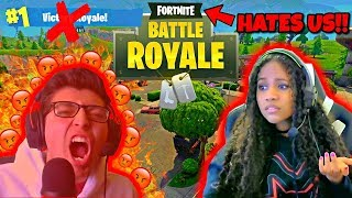 THIS GAME HATES US BOTH!!!! [FORTNITE BATTLE ROYALE] [#2] w/ GIRLFRIEND