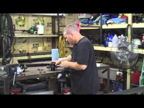 How to Build a Utility Trailer Part 3 Axle Location and Axle Assembly