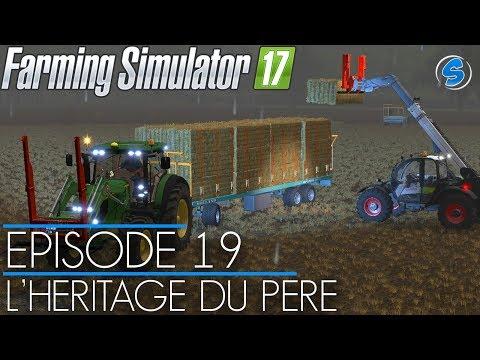 RolePlay - Farming Simulator 17 | L'HÉRITAGE DU PÈRE | Épisode 19 | On travaille sous la pluie ⛈