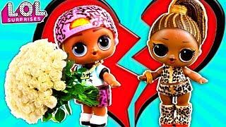 Скриббл признался в любви, но что то пошло не так! Мультик про куклы ЛОЛ сюрприз LOL dolls