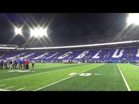 University of Kentucky Card Stunt