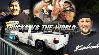 Trucks VS The World Event | El Scarface Ruben