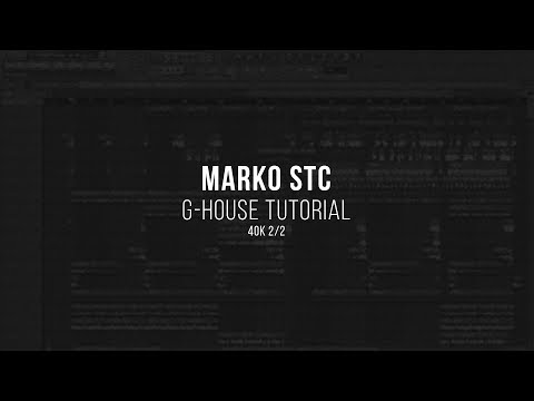 Marko Stc's G-House Kit + FLP/Stems [FREE] - Freshstuff4you