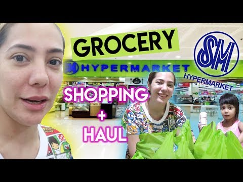 5,000 PHP SM HYPERMARKET GROCERY SHOPPING AT HAUL + RECOMMENDATIONS!   | Nina Rayos 💋