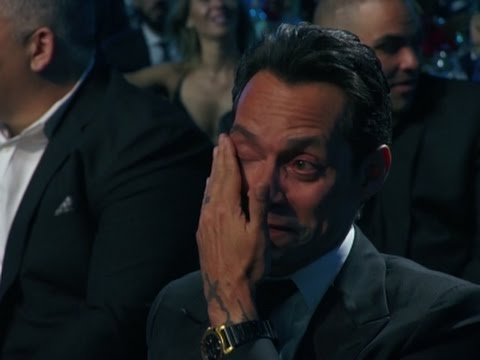 Marc Anthony's emotional night
