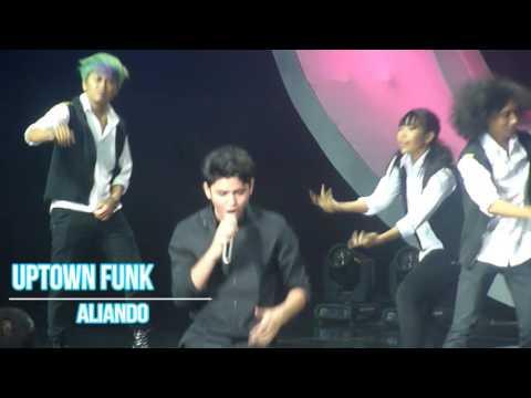 Aliando - uptown funk at Indonesia Social Media Awards 2K16