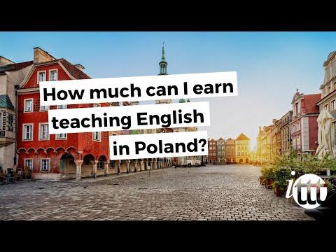ITT FAQs - How much can I earn teaching English in Poland?