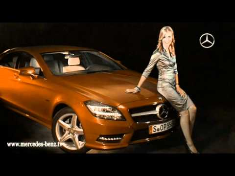 mercedes 2012 cls color girl trailer youtube. Black Bedroom Furniture Sets. Home Design Ideas