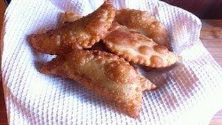 Рецепт -Тесто для чебуреков слоёное ( тесто за 3 минуты )