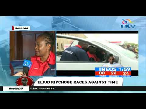 INEOS 1:59 Challenge: Eliud Kipchoge is disciplined and calm - Isuzu MD