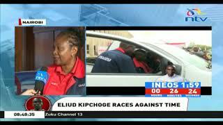 INEOS 1:59 Challenge: Eliud Kipchoge is disciplined and calm - Isuzu MD