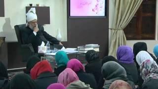 Gulshan-e-Waqfe Nau (Nasirat) Class: 6th November 2010 - Part 2 (Urdu)