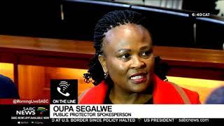 Mkhwebane denies Gupta financial links