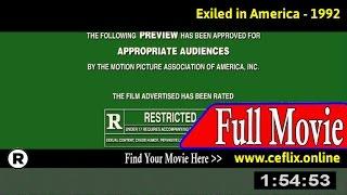 Exiled in America (1992) Full Movie Online